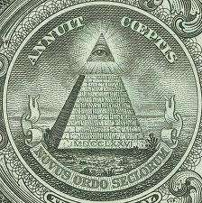 Símbolo Illuminati en el billete