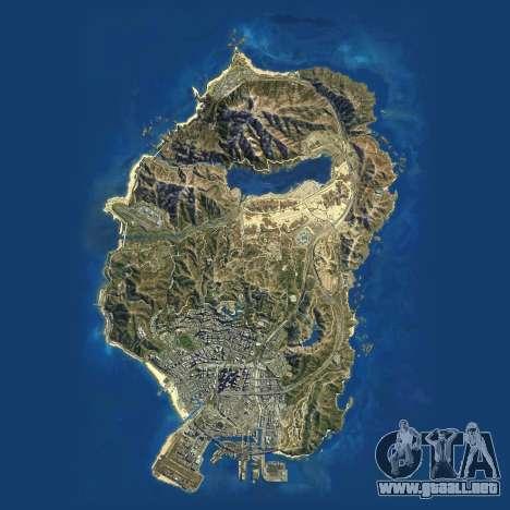 Carta Sat-de Grand Theft Auto 5