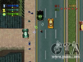 Comunicados de GTA 2: PS-versión en Norteamérica