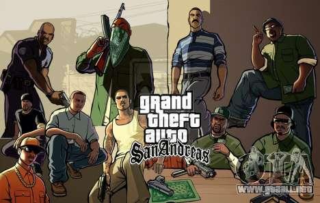 Posterior puertos de GTA SA: PS3-versión en América