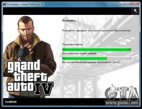 GTA 4 para Windows: versión PAL-versión