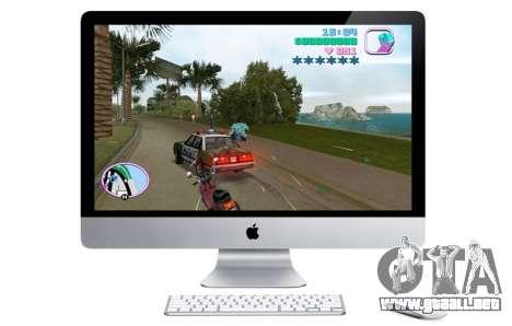 el Lanzamiento de GTA VC para OS X, en América del Norte
