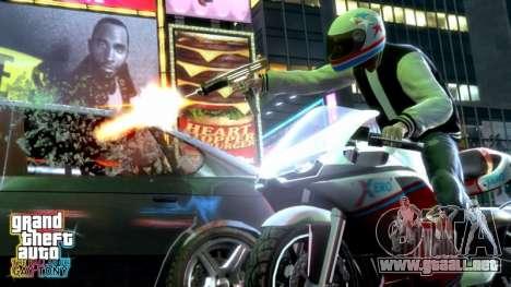 Liberación de complementar el GTA TBOGT PC, PS3 en europa