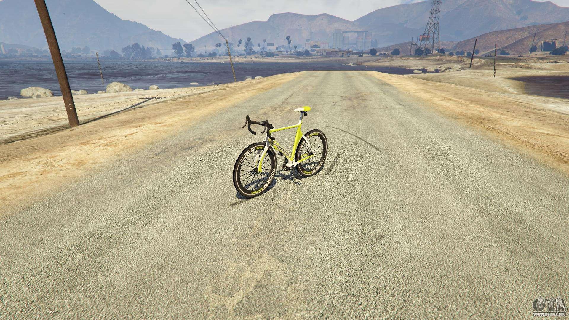 Whippet Race Bike de GTA 5