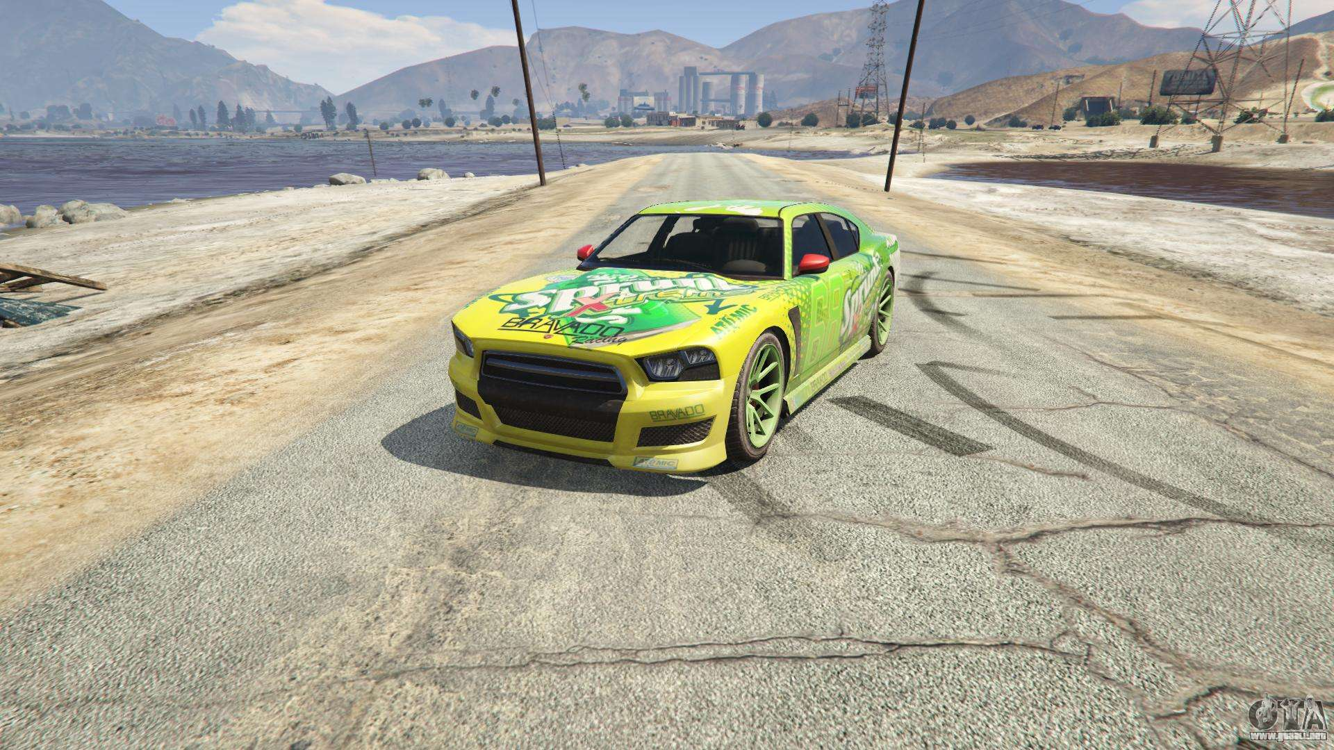 Sprunk Buffalo S GTA 5 - vista frontal