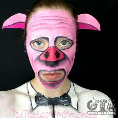 la Máscara del Cerdo