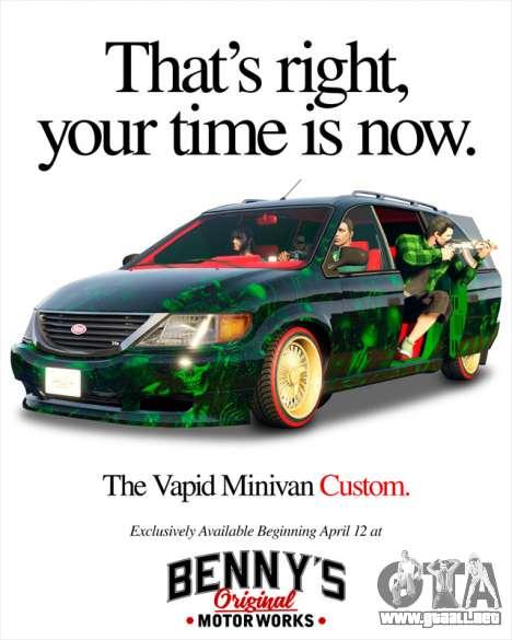 Nueva Vapid Minivan Custom