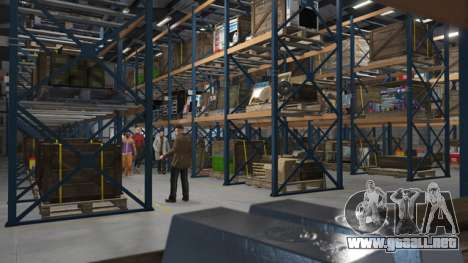 la Organización del Almacén en GTA Online