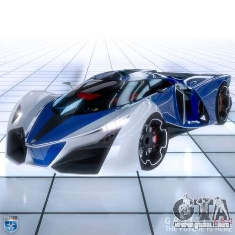 el nuevo superdeportivo Grotti X80 Proto
