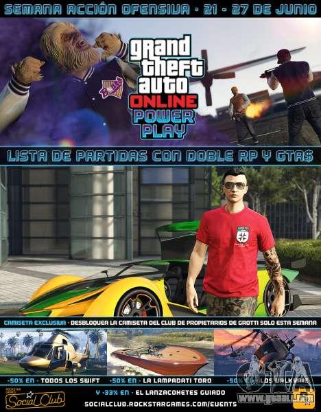 el Otro semanal de eventos en GTA Online