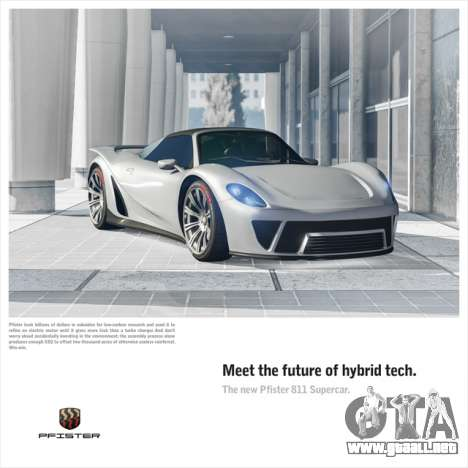 Nueva Pfister 811 superdeportivo y el Día de la Independencia de eventos en GTA Online