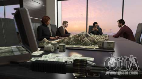 los Dirigentes de un sindicato del crimen en GTA Online