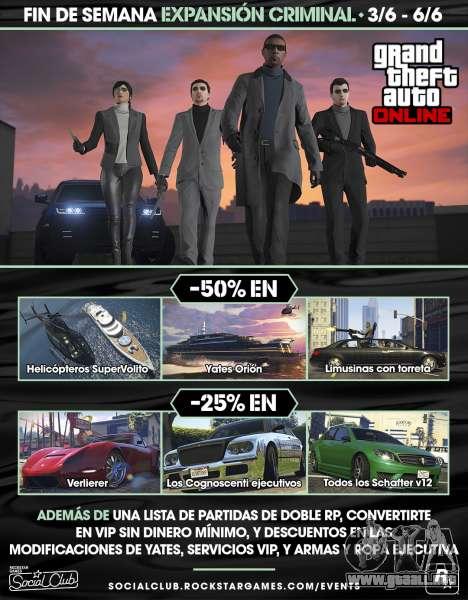Expansión Criminal en GTA Online