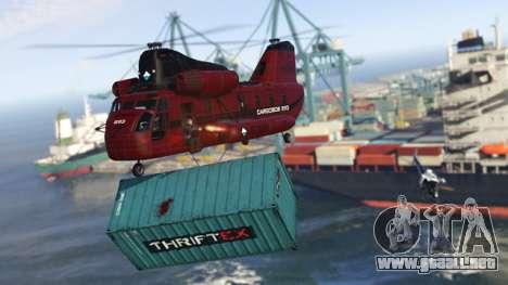 la entrega de la Carga en el GTA Online