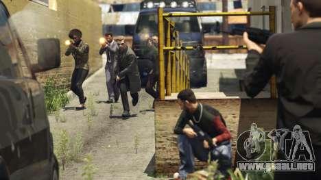 Una batalla por la Carga en GTA Online
