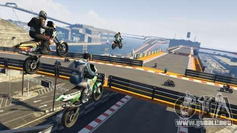 el Cielo de los ciclistas de GTA Online