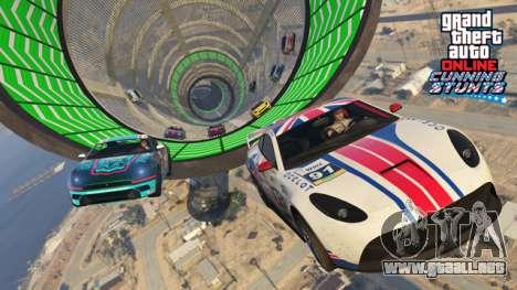 GTA Online: Cunning Stunts - Nuevo truco de carreras y vehículos