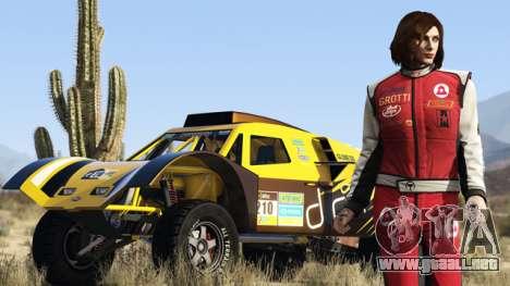 el Especialista y su coche en GTA Online