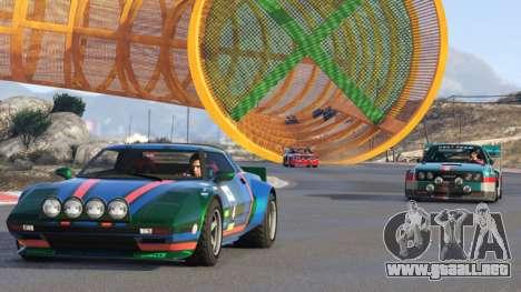 La carrera es en GTA Online