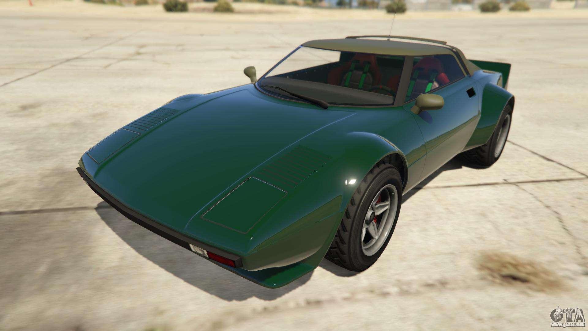 Lampadati Tropos Rallye de GTA Online - vista frontal