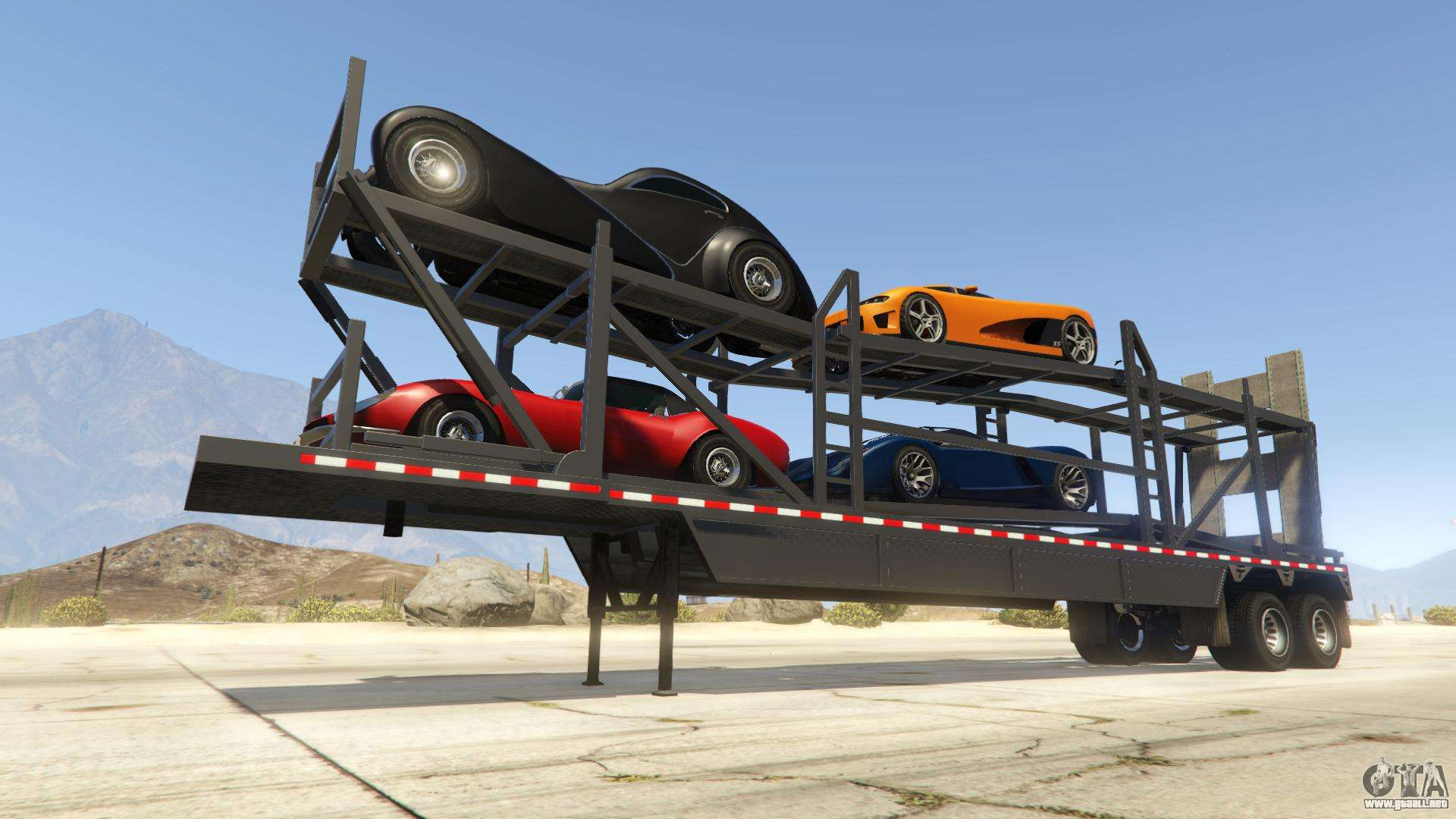 Car Trailer de GTA Online