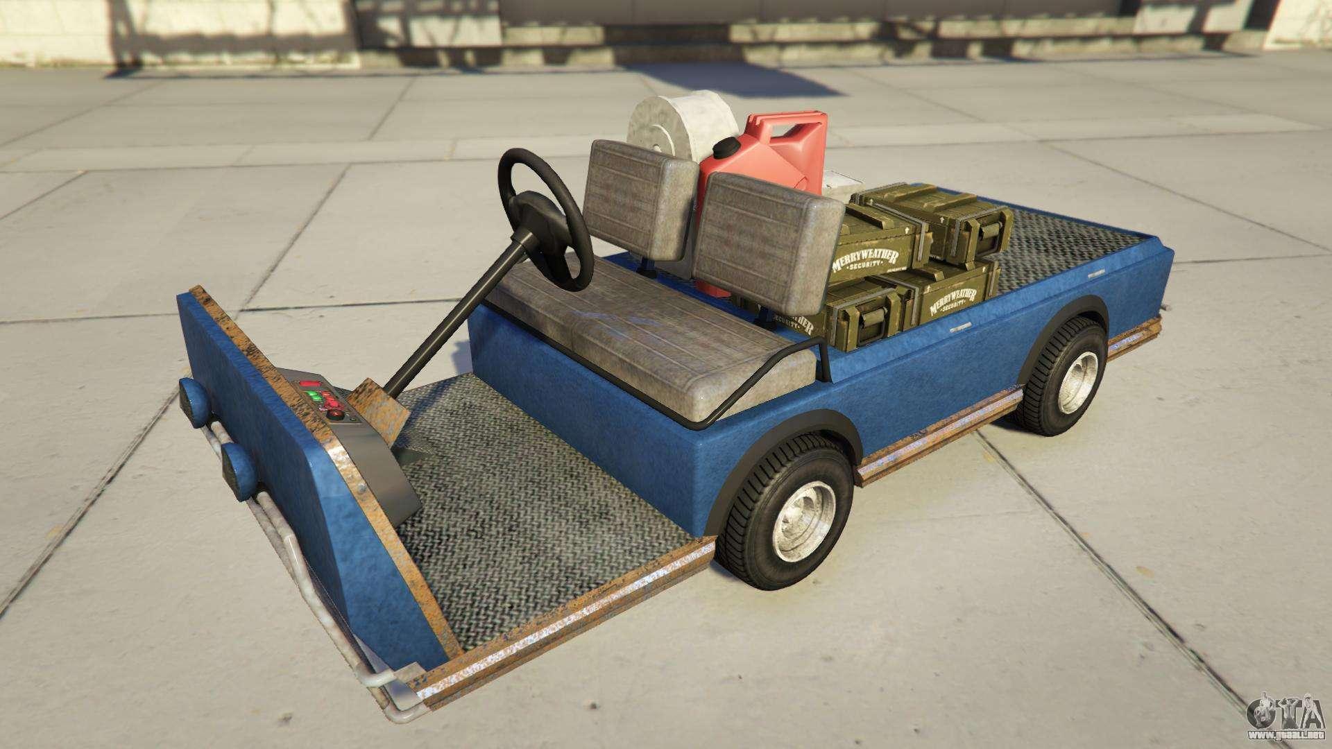 Nagasaky Bunker Caddy de GTA Online