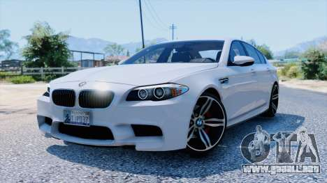 BMW M5 para GTA 5