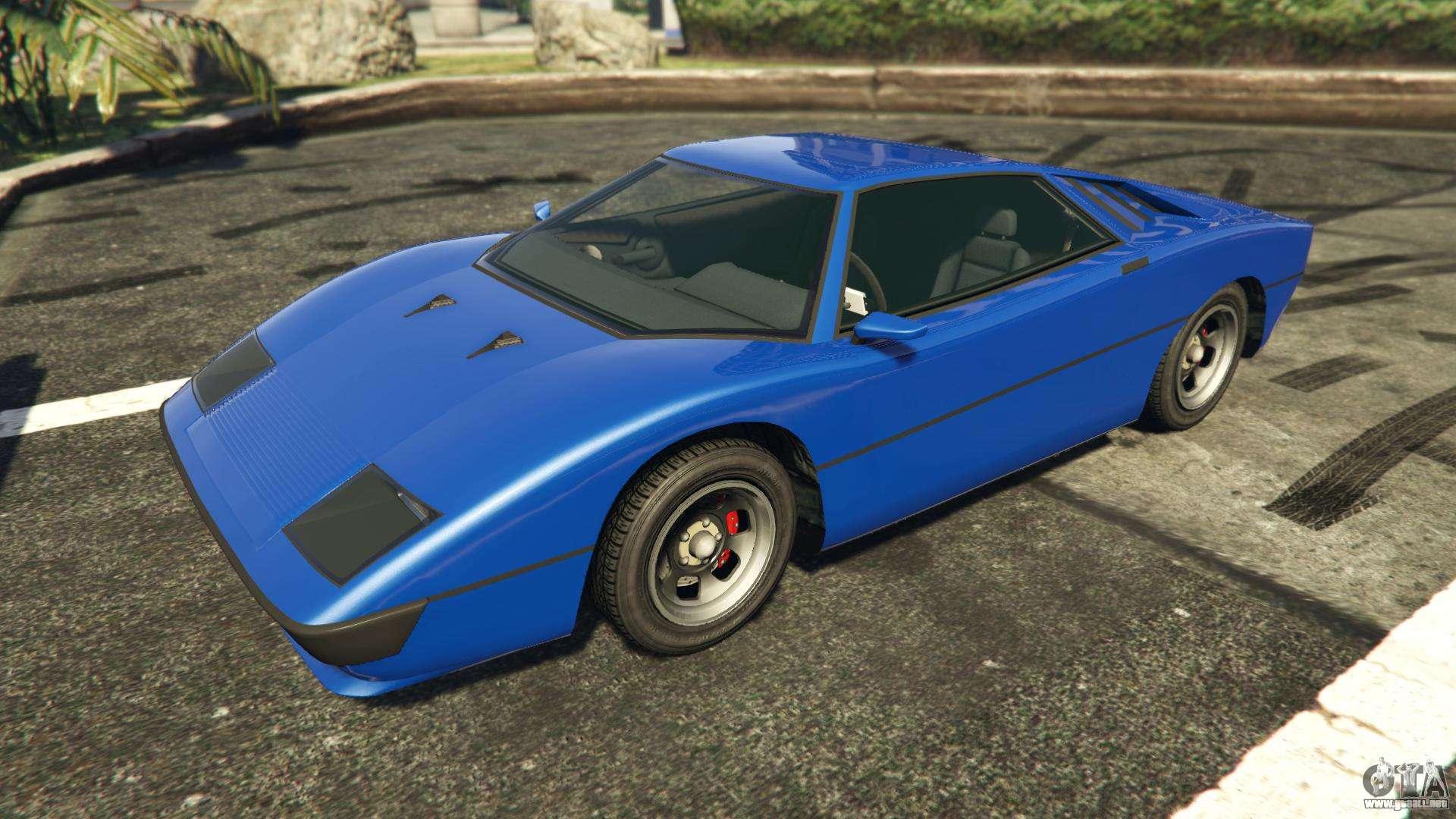 Ocelot Stromberg GTA 5 Online-la vista desde el frente