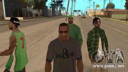 Banden dans GTA San Andreas