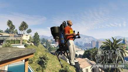 Vender el jetpack en GTA 5 online