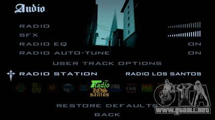 Radio-pistas en GTA SA