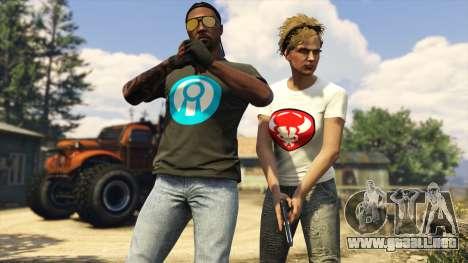 Camisetas de regalo en GTA Online
