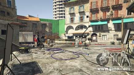 La película dispara en GTA 5