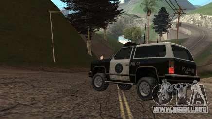 Cómo ser un policía en GTA San Andreas