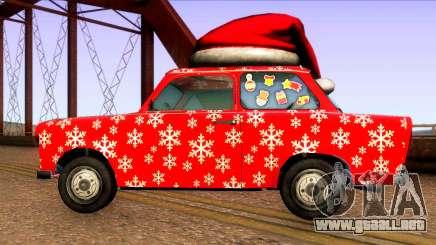Navidad-coches para GTA San Andreas