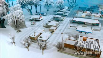 L ' hiver mod vierta el GTA San Andreas