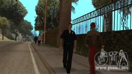 La policía en GTA SA