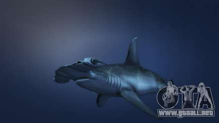 El tiburón martillo en el GTA 5