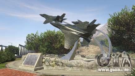 Cómo volar un jet militar en el GTA