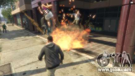 El atentado en el GTA 5