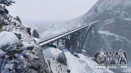 El invierno en GTA 5