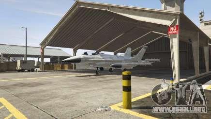 Un jet militar en GTA 5