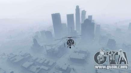 Año nuevo, la ciudad de GTA 5