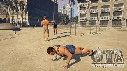 Los músculos en GTA 5