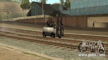 La misión de la camioneta en el GTA SA