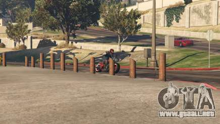 Bicicleta de carrera de GTA 5