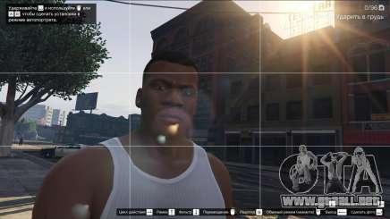 Selfies dans GTA 5 Online