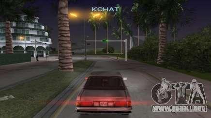 Usted puede escuchar la música en el GTA VC