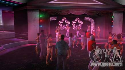 La música en el club de GTA Vice City