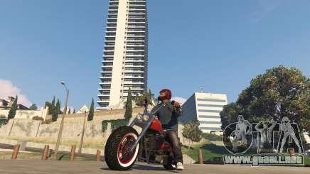Moto dans GTA 5 Online